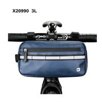 Rhinowalk Bicycle Front Tube Handlebar Bag Waterproof MTB Road Bike 3L - Biru