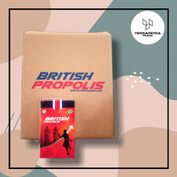 Suplemen Kesehatan Premium British Propolis anti jamur bakteri oksidan