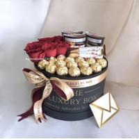 The Luxury Box Chocolate Box Premium / Valentine Custom / Hadiah