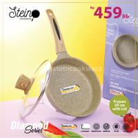Stein Steincookware Diamond Frypan 20 cm + Lid (Fry Pan Wajan Ttp Kc)