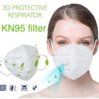 Masker KN95 RESPIRATOR 1 pack 10 pcs Masker medis n95 valve ANTI VIRUS