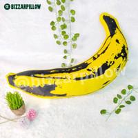 Bantal pisang Banana pillow harga promo - PisangXL Kuning