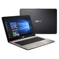 ASUS VIVOBOOK X441MA-BLACK-INTEL N4000 (4GB-1TB) 14inch/HD/WINDOWS