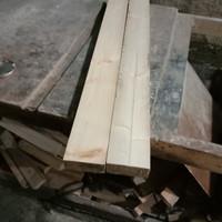 balok kayu jati Belanda