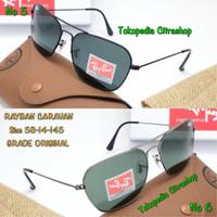 kacamata sunglasses pria RAYBAN 3136 CARAVAN Grade original
