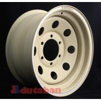 Velg R15 Avantech Modular Desert Brown 6x139 Fordranger Hilux Triton