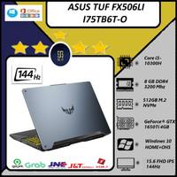 ASUS TUF FX506LI I75TB6T-O i7 10870 8GB 512ssd GTX1650Ti 4GB OHS 144Hz - NON PAKET