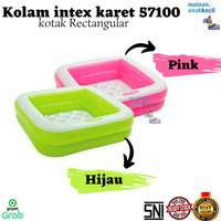 kolam intex kolam karet anak kotak Rectangular anak bayi balita warna