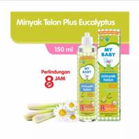 Minyak Telon My Baby Plus 8 Jam 145 ml (exp. 07/2022)