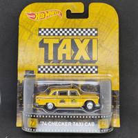 Hot Wheels Retro Taxi 74 Checker Taxi Cab Hotwheels Ban Karet
