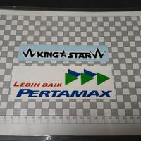 cutting sticker Lebih baik PERTAMAX
