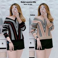 Baju Atasan Wanita Import Rajut - 057212