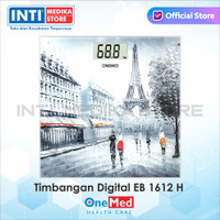 ONEMED - Timbangan Badan Digital EB 1612 H | Timbangan Digital Onemed