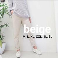 Baggy Pant Beige atau Krem Celana Kerja