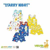 NEW Baju Anak Bayi Setelan Singlet Velvet Junior Pakaian Baby SNI Aman