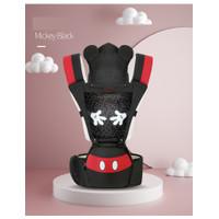 Gendongan Bayi Baby Carrier Hipseat hip seat DISNEY 8TH GENERATION ORI - SSC blak mickey