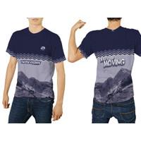 Baju Kaos Tshirt Jersey Pria Hiking Mountain Bike Sepeda Goes Custom