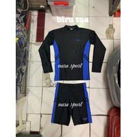 Setelan baju renang diving dewasa tangan panjang pria speedo