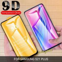 tempered glass 9D Samsung s21 plus anti gores kaca
