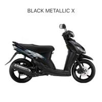 Striping Set AL115C Mio Sporty | 28DB | 2009 | Black Mettalic X