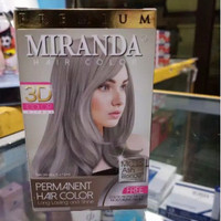 Miranda MC 16 Ash Blonde - Cat Rambut Miranda Warna Abu-abu