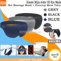 Xiaomi Mijia Ardor 3D Eye Mask Hot Massage Mask + Penutup Mata Tidur