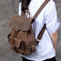 Tas wanita kulit premium ch - ransel wanita kulit ch vintage