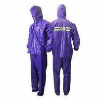MA Raincoat Stelan Karet PVC Baru - Jas Hujan GMA