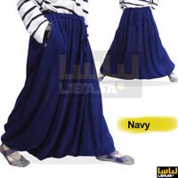Sirwal Akhwat / Rok Sirwal / Rok Celana - bahan Kaos PE Adem Tebal