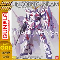 MG Unicorn Gundam Ver Ka Titanium Finish - BANDAI 1/100
