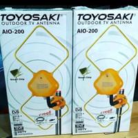 ANTENA TV OUTDOOR & INDOOR TOYOSAKI AIO200 AIO 200 LUAR DALAM AIO-200