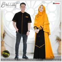 baju couple muslim gamis syari BRILLIANT