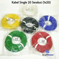 Kabel Serabut 1x20 50 Meter Full Tembaga