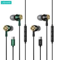 USAMS EP43 Type-C In Ear Metal Earphone