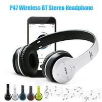 ❤Grosir❤headphone bluetooth P47 wireless stereo handset bando
