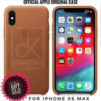 Iphone XS Max - Official Apple Original Leather Case