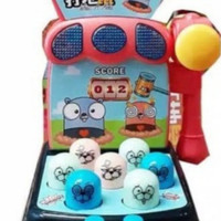 mainan mesin whack a mole/mainan ketok palu size sdg/mainan anak