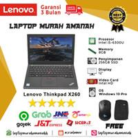 Laptop Lenovo ThinkPad X260 i5 Gen 6 8/256 Berkualitas Bergaransi