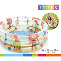Kolam Renang Anak Bayi INTEX BABY DINO POOL57106 61cm x 22cm - KOLAM