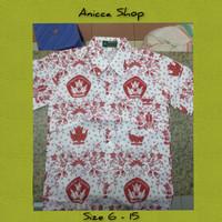 Baju Kemeja Batik SD Pendek Seragam Sekolah