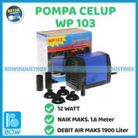 Pompa Air Celup Aquarium Aquascape Akuarium Kolam AQUAMAN WP 103 12 W