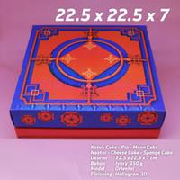 kotak oriental kue lapis/sponge cake/cheese cake 22x22