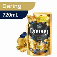 Downy Pelembut Pakaian / Emas Daring Refill 720ml Pewangi Pel