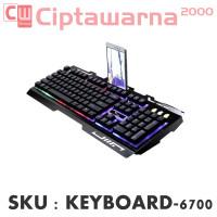 Leopard G700 Gaming Keyboard LED