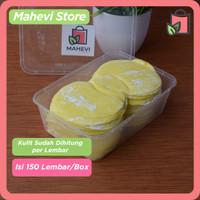 Kulit Dimsum/Gyoza/Siomay/Pangsit Kuning Premium hand made isi 150 Pcs - 7