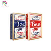 Kartu Poker Bridge BEE Kualitas Premium Made in USA licensed Macao - Biru