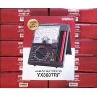 Avometer Multimeter Mutitester Analog SANWA YX360TRF / YX 360 TRF