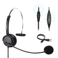 Ausdom Phone Headset with Noise Cancelling Mic Office Business - BH01