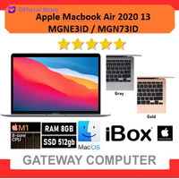 Apple Macbook Air 2020 M1 Chip MGN73ID MGNE3ID 512GB SSD 8GB