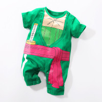 Baju Romper / Baby Jumper Anak Bayi cowo Anime ONE PIECE ZORO